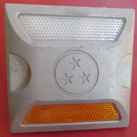 Алюминия с двойным спайк светоотражающие поднятый знаки