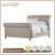 American Country Fabric Queen King Bed Upholstery Linen Bed Hotel Bed Room Furniture