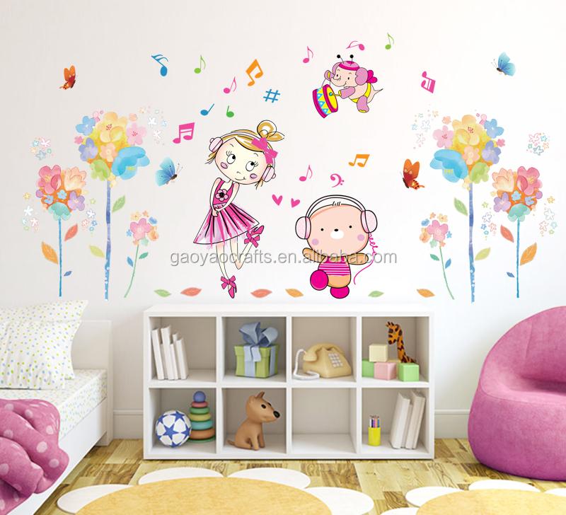 M sica dos desenhos animados do urso da menina flores for Un cuarto con luna facebook