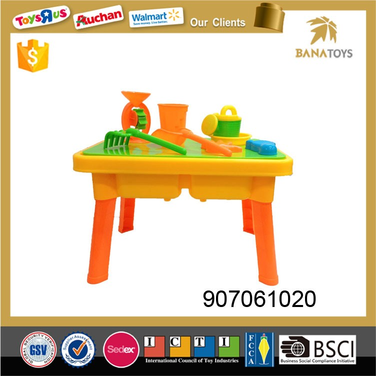 Hot sale plastic sand beach table toy