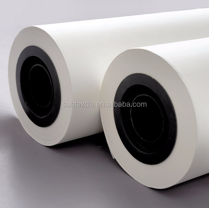 48g low running cost sublimation paper roll for digital printing g on  polyester