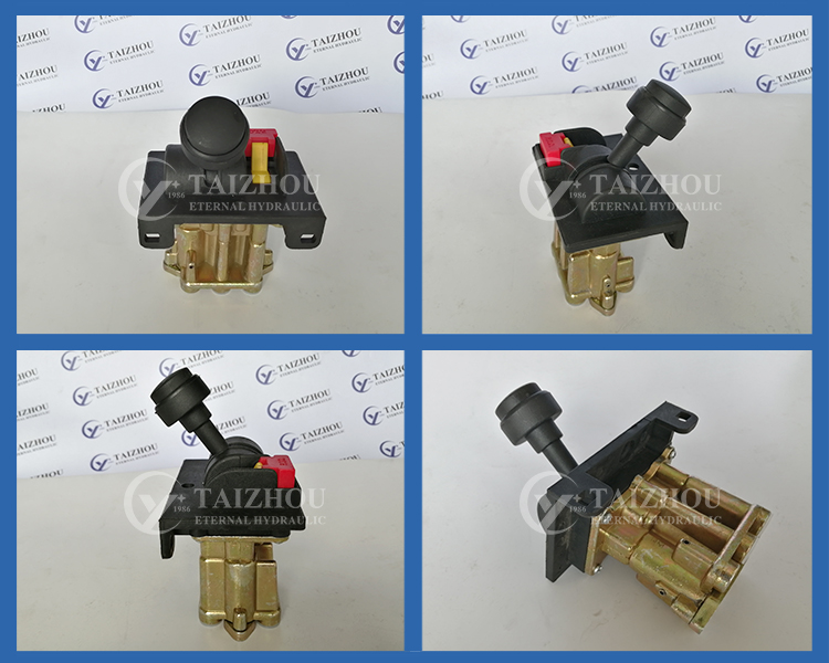 Pto Air Controllers Aluminum Pto Pump Propotrional Dual Air Shift Control Valves Pto Air Switch For Dump Truck