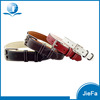 High Quality Luxury Genuine Leather Dog Collar Leather