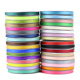 1/2 inch Grosgrain Ribbon Wholesale gift wrap decoration Christmas ribbons gift ribbons (100 yards/roll)