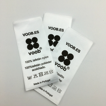 8c6624f579c Custom Fabric Printed Satin Care Labels For Clothing Satin - Buy ...
