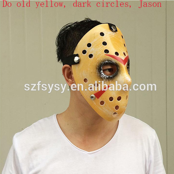 Movie Prop Horror Hockey Costume Halloween face mask