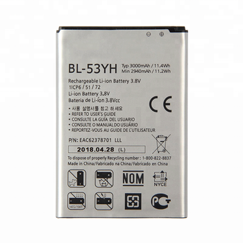Lg Li Ion Battery >> High Mah Bl 53yh Mobile Phone Battery For Lg G3 Bl 53yh Li Ion Battery View High Mah Bl 53yh Mobile Phone Battery Oem Product Details From Guangzhou