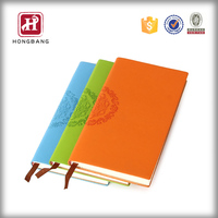 2016 new custom design notepad OEM A4/A5/A6 pu leather notebook