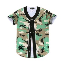 Camouflage <span class=keywords><strong>Honkbal</strong></span> Uniform, <span class=keywords><strong>Camo</strong></span> <span class=keywords><strong>Honkbal</strong></span> <span class=keywords><strong>Jerseys</strong></span>, Knop Up Baseball Shirt