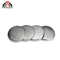 "1/2"" X 1/16"" strong n52 disc neodymium magnet for jewelry"