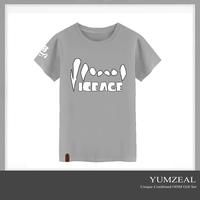 running soft unisex screen printed polyester tshirt