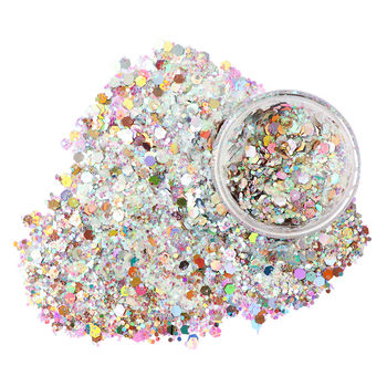 Xuqi polyester shimmer glitter powder for wedding decoration