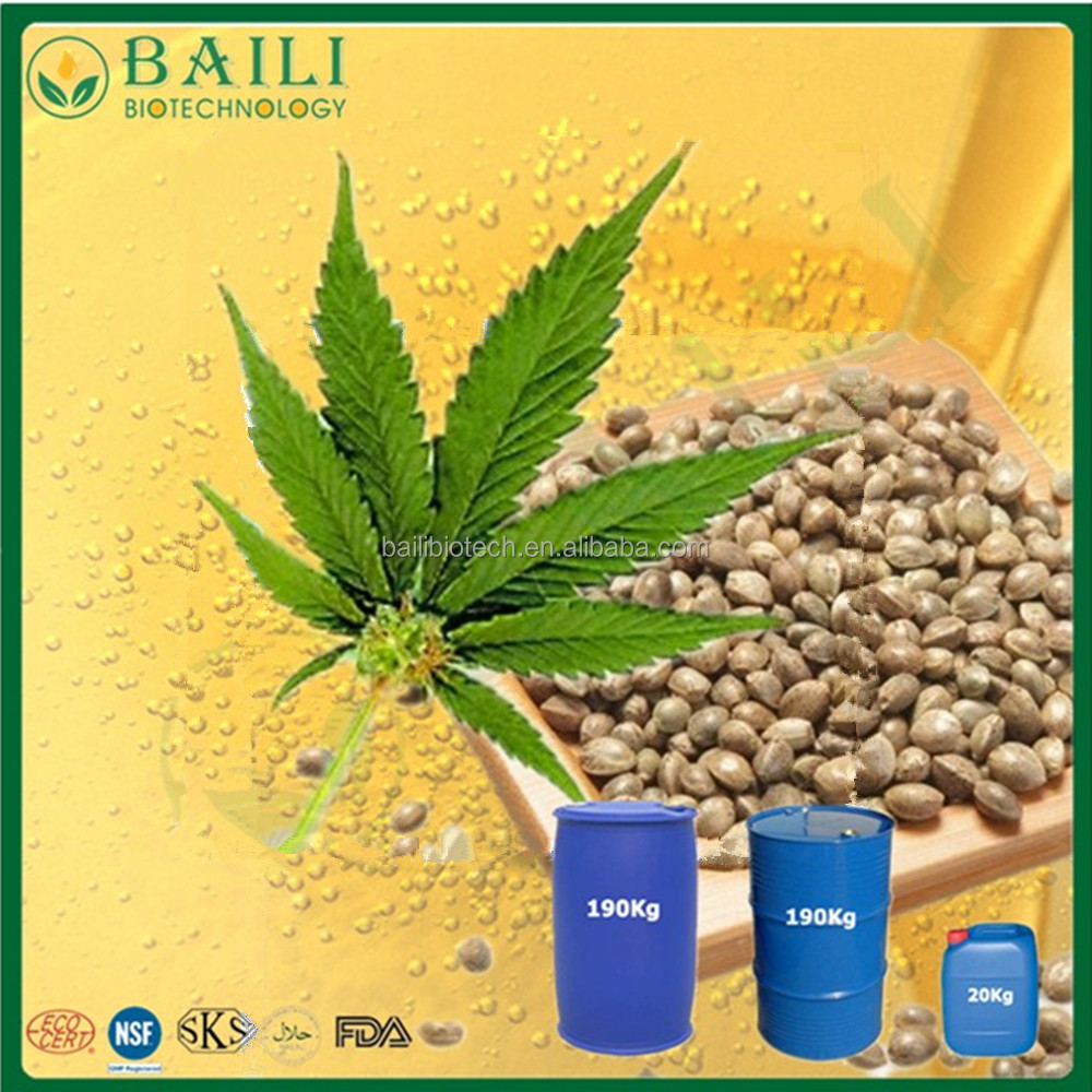 GMP approved CBD oil Hemp Seed Oil essential oil made in China