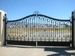 Electric motors main entrance gate design