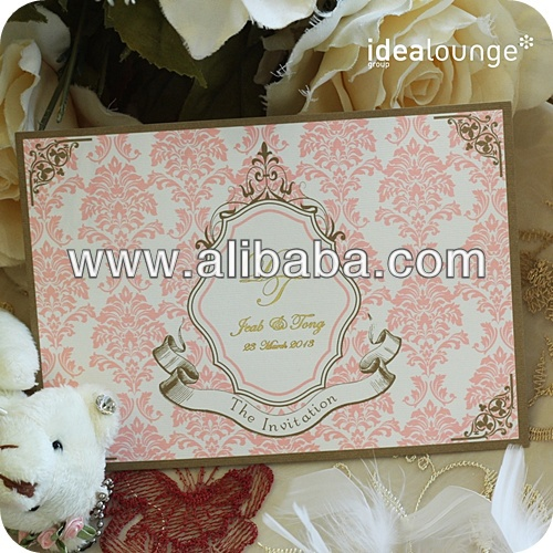 Classic Wedding Invitations Cards By Thailand - Buy