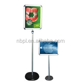 Aluminum Floor A Stand Poster DisplaysRestaurant Table Stand Buy - Restaurant table displays