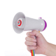 5W amplifier Mini Portable Megaphone with 10 minutes sound recording