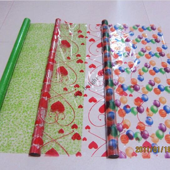 plastic gift wrap paper roll print patterned present packaging decoration film lot buy gift. Black Bedroom Furniture Sets. Home Design Ideas