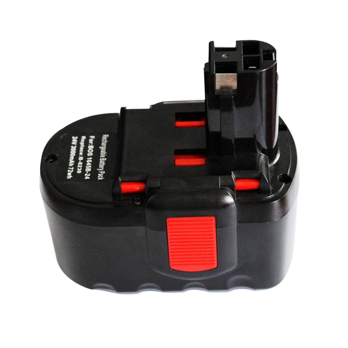 Electropan 24V 3.0Ah Li-Ion Replacement Battery for Bosch B-8230 BAT030 BAT031 BAT240 BAT299 BH-2424 BTP1005 Cordless Power Tools