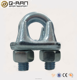 Galvanized U Bolt Cable Clamp Drop Forged Wire Rope Clip