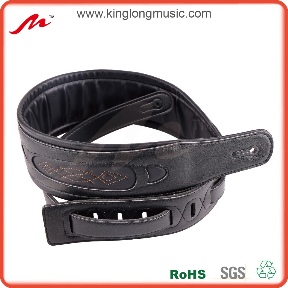 wholesale padded leather guitar buy leather guitar