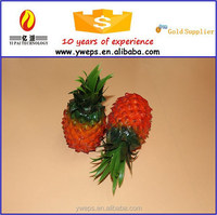 YIWU artificial fruit pineapple for home decoration