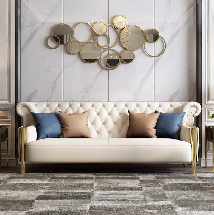 Perabot Rumah Ruang Tamu Mewah Modern Gaya Eropa 3 Dudukan Sofa Kulit Set Iitalia Beludru Buy Modern Luxury Living Kamar Home Furniture 3 Seater Sofa Kulit Set Iitalian Beludru Sofa Product On