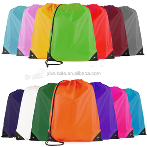 Wholesale High Quality Polyster Sport Drawingstring Bag With Custom Logo For Promotion KA242