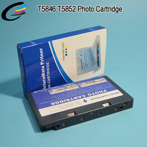 PM245 PM225 PictureMate Printer Ink Cartridge for Epson T5846 T5852