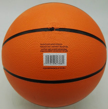 Rubber Basketball size 7,Orange Basketball 7#