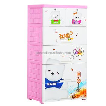 Hardware Storage Cabinet Plastic 3/4/ 5 Drawers Tabletop Storage Drawer