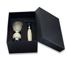 Custom luxe zwart <span class=keywords><strong>scheren</strong></span> baard set gift box made in china