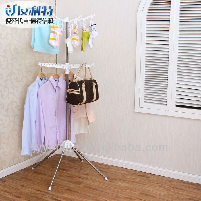Foldable window coat home hanger design for towel