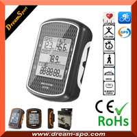 New Outdoor GPS Bicycle Computer Cycling Speedometer with Heart Rate Monitor Cadence Speed