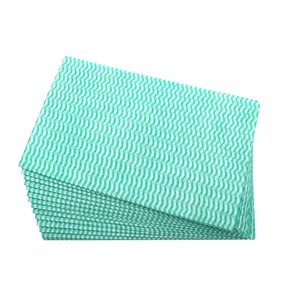 Disposable Spunlace Non woven Fabric Household disposable Cleaning Wipes Cleaning Cloth with low price