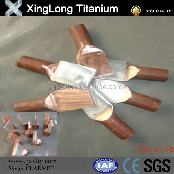 Copper Clad Plate For Cable And Tubing Clips Use