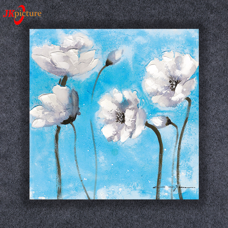Print oil paintings Copying flower canvas picture artistic impressions paintings
