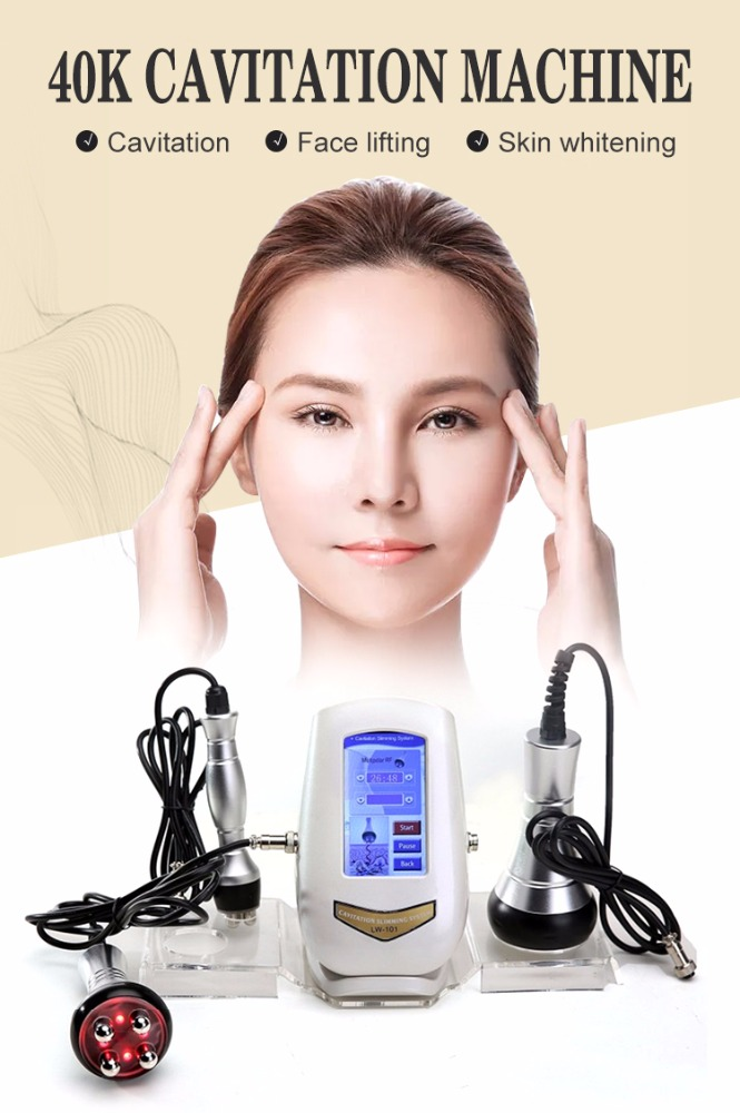 2019 new portable Cavitation RF Body Slimming Machine ultra cavitation slimming machine