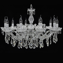 Iron Modern Clear Crystal Chandelier Pendant Lights