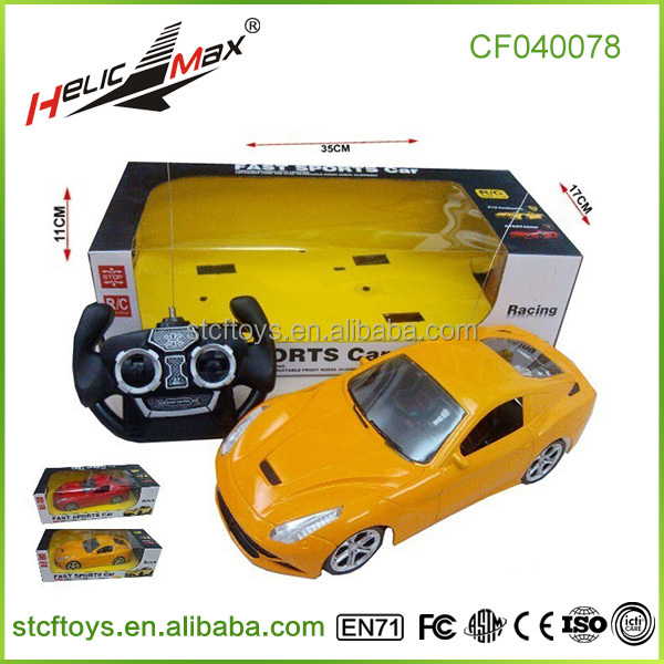 Hot selling 1:16 rc car model window box packaging Electric remote control vehicle toys for kids wholesale shantou toys