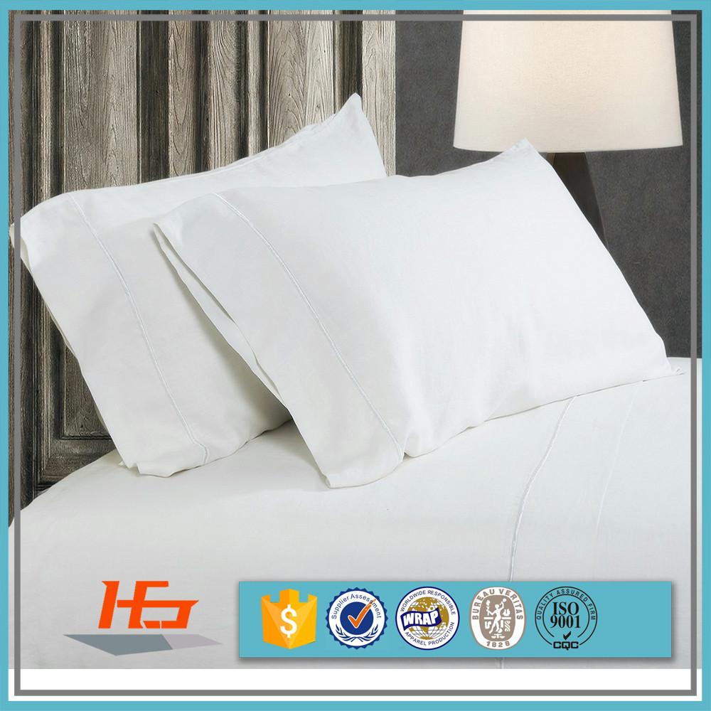 Bulk 100 cotton white pillow cases wholesale white for White craft pillow cases