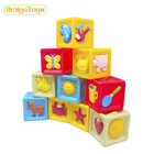 Customized Fun Educational PVC Vinyl Rubber Duck Baby Kids Floating Block Bath Toys