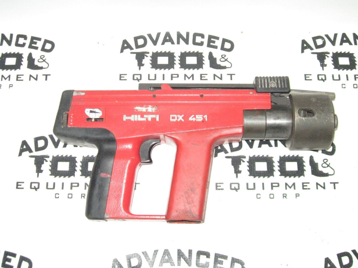 Get Quotations · Hilti DX 451 Powder Actuated Nail Nailer Gun With Case U0026  Accessories DX451