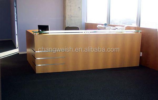modern wooden office counter desk buy wooden. Modern Office Reception Counter,simple Wood Glass People Counter Design Wooden Desk Buy R