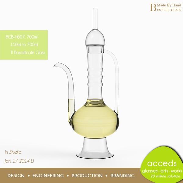 Home deco mooie warmte resisitant koken pyrex glas olijfolie fles flessen product id 60152848401 - Deco klassiek koken ...