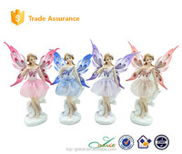 spring seasonal resin fairy figurine and crafts