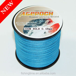 4/8strands 100-2000m 10-100lb blue PE Braid Fishing Line for fishing