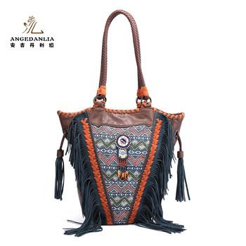 3d5073270e2 2018 boho stijl schoudertassen fashion vrouwen etnische bag handtassen