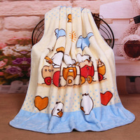 2018 new design kevlar style blanket with cartoon print