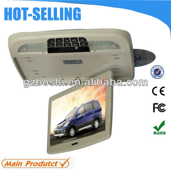 Hot product: 10 Inch Super Slim Car Flip Down DVD Player